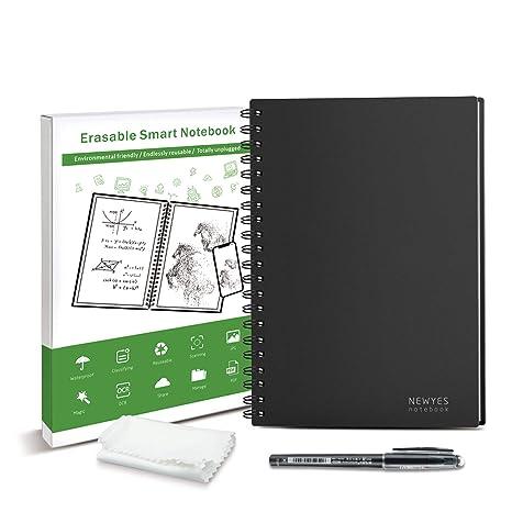 Reutilizable Erasable Everlast Cuaderno Inteligente Cuaderno Digital A5 Tamaño 100 Páginas de Almacenamiento APP Apto para