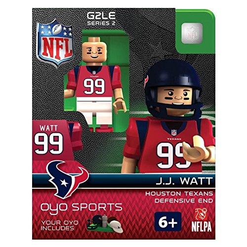NFL Houston Texans J.J. Watt Gen 2 Mini Figure, Petit