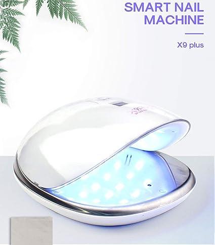 48W LED Máquina de fototerapia de clavos con fuente de luz doble de, secadores de