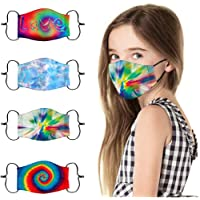 Adults-52Pcs Disposable Breathable for Face Bandanas with Pocket Jeeke PM2.5 Activated Carbon-Filters Replaceable 5 Layers Protection Dust Haze Filtered Paper for Adults or Kids
