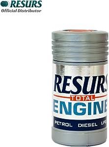 Resurs Total 50 g Petrol Engine/Diesel Engine/LPG Engine/Car Engine Restorer Nano Technology Oil Additive/Engine Additive/Engine Treatment/Engine Restoration/Nano Restorer/Remetalizer