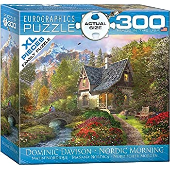 EuroGraphics Nordic Morning by Dominic Davison 300-Piece Puzzle (Small Box)