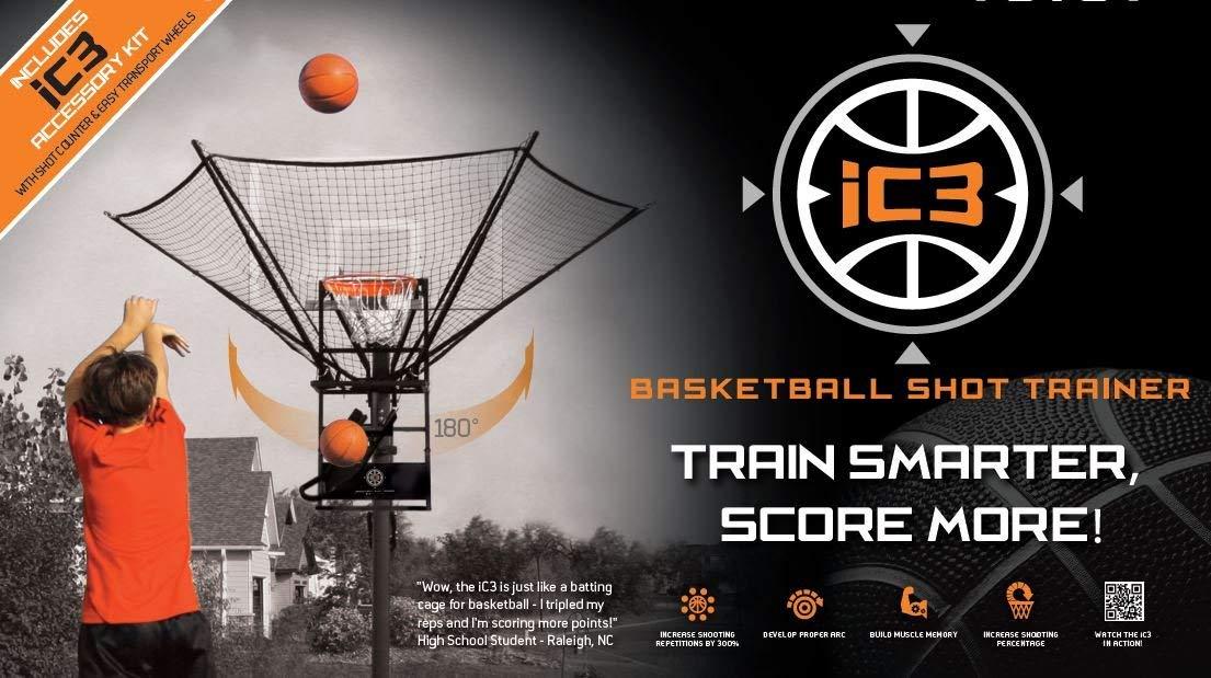 Amazon.com: iC3 Baloncesto Shot Entrenador con accesorios ...