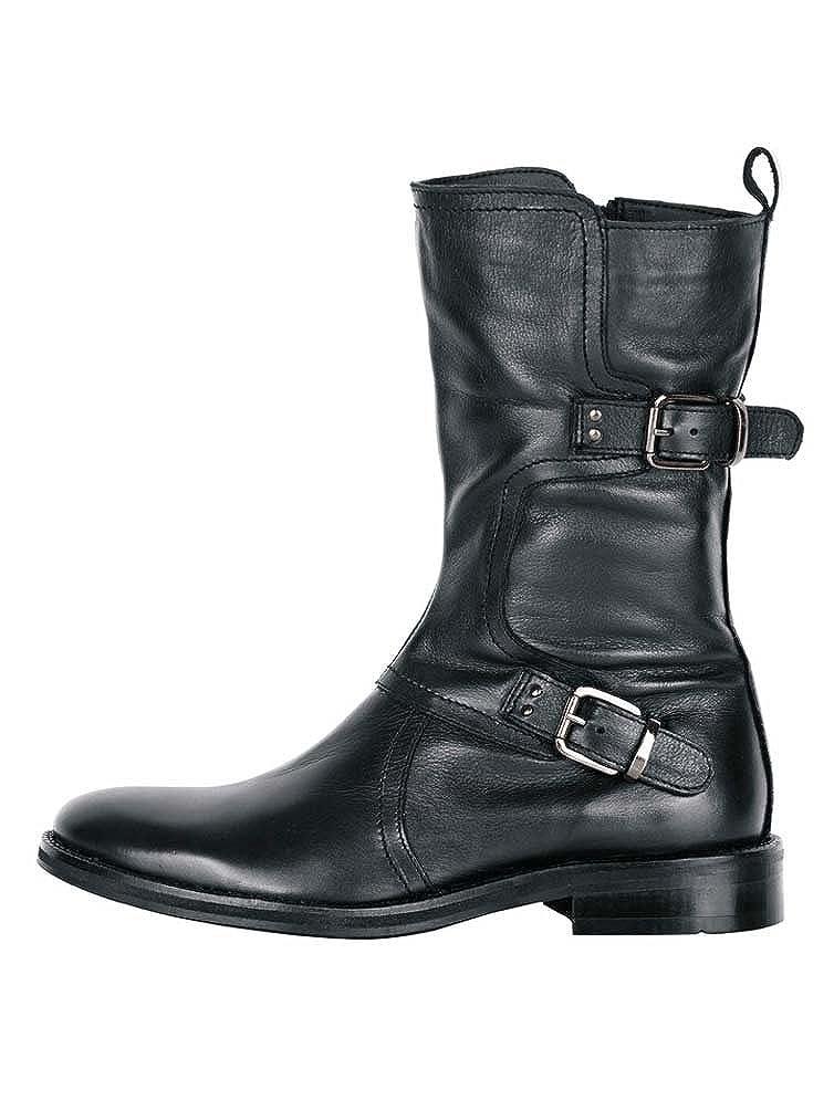 xyxyx Stiefelette im Biker Style, schwarz Gr. 39:
