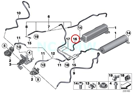 Hose Diagram Bmw 750