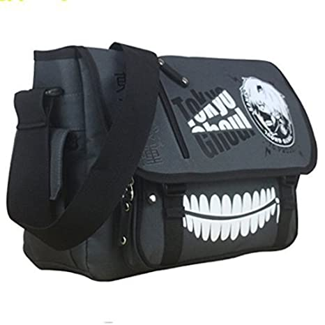 be13ed6f7e Amazon.com  Maggift Anime Tokyo Ghoul Canvas Cosplay Fashion Messenger Bag   Toys   Games