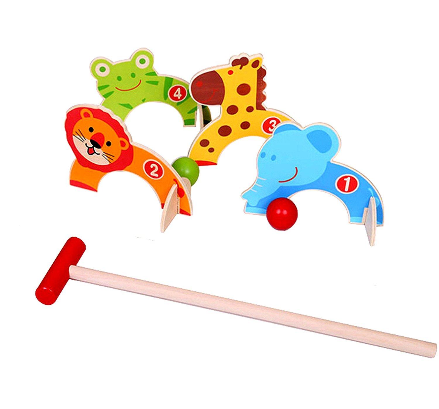 M.Y Outdoor Games - Animal Croquet - Kinder Outdoor Games KT