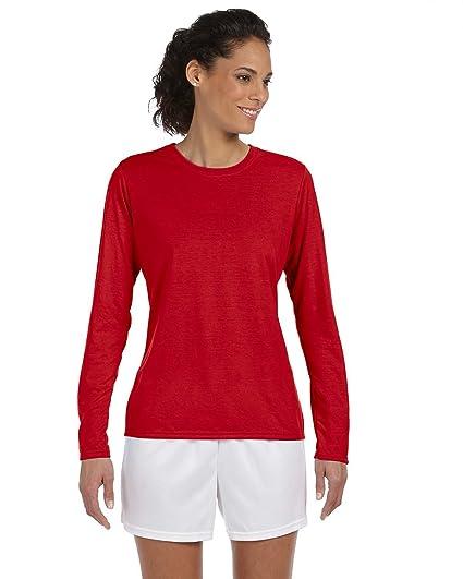 e9e4d1d306cd Gildan Performance Ladies 4.5 oz. Long-Sleeve T-Shirt at Amazon ...