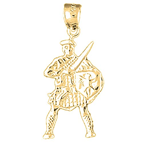 Jewels Obsession Runner Necklace Rhodium-plated 925 Silver Runner Pendant with 16 Necklace
