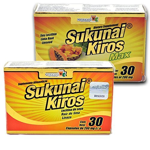 Naturacastle Diet Kit for Fast Results Sukunai Kiros + Kiros Max by Naturacastle by naturacastle