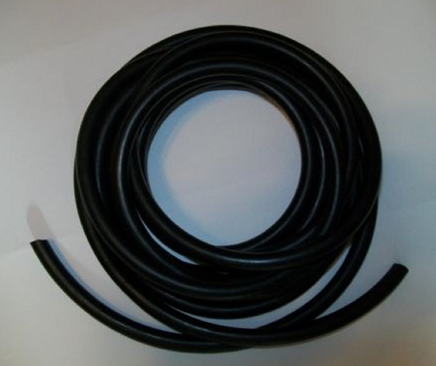 USA Premium Store 3/16'' I.D x 3/32'' wall X 3/8'' O.D Surgical Latex Tubing Rubber Tube BLACK FOOT