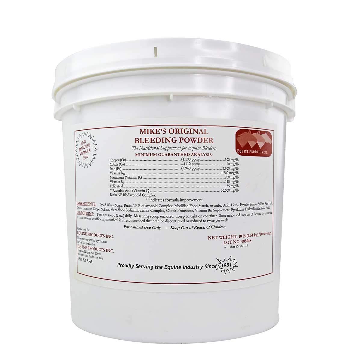 Equine Products Inc Mikes Original Bleeding Powder 10 lbs