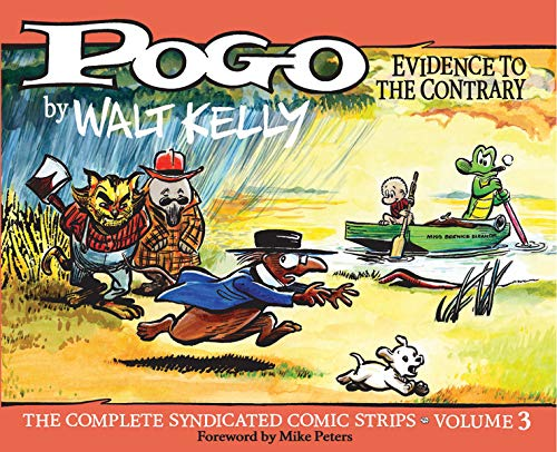 Image of Pogo The Complete Syndicated Comic Strips: Evidence To The Contrary (Vol. 3)  (Walt Kelly's Pogo)