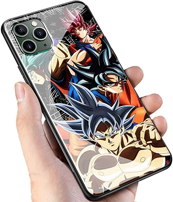 cover iphone 11 goku black