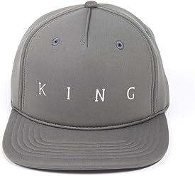 52b573eabfc King Apparel Men s Plaistow Stone Snapback Cap O S Grey