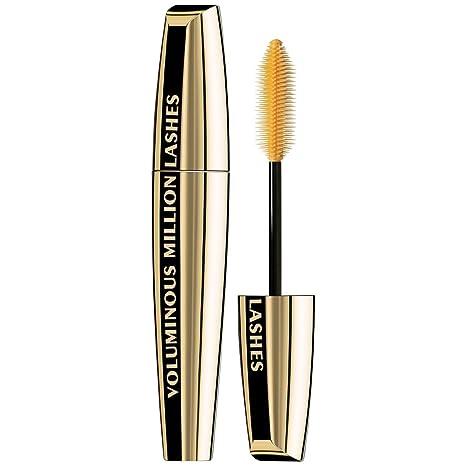 L'Oréal Paris Makeup Voluminous Million Lashes Mascara, Black, 1 Tube