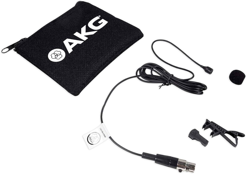 AKG C417 L Clip on Lavalier Microphone + Windscreen For Church Speeches/Sermons