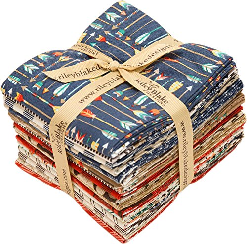 Dani Mogstad High Adventure 18 Fat Quarter Bundle Riley Blake Designs FQ-5550-18