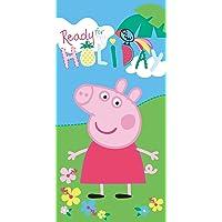 Jerry Fabrics Peppa Pig - Toalla de playa (70 x 140 cm), diseño de Peppa Pig