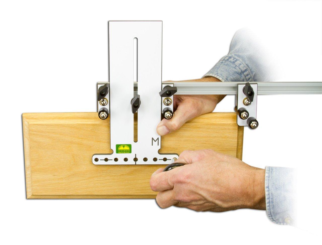Woodhaven 8640 Metric Hardware Marking Jig