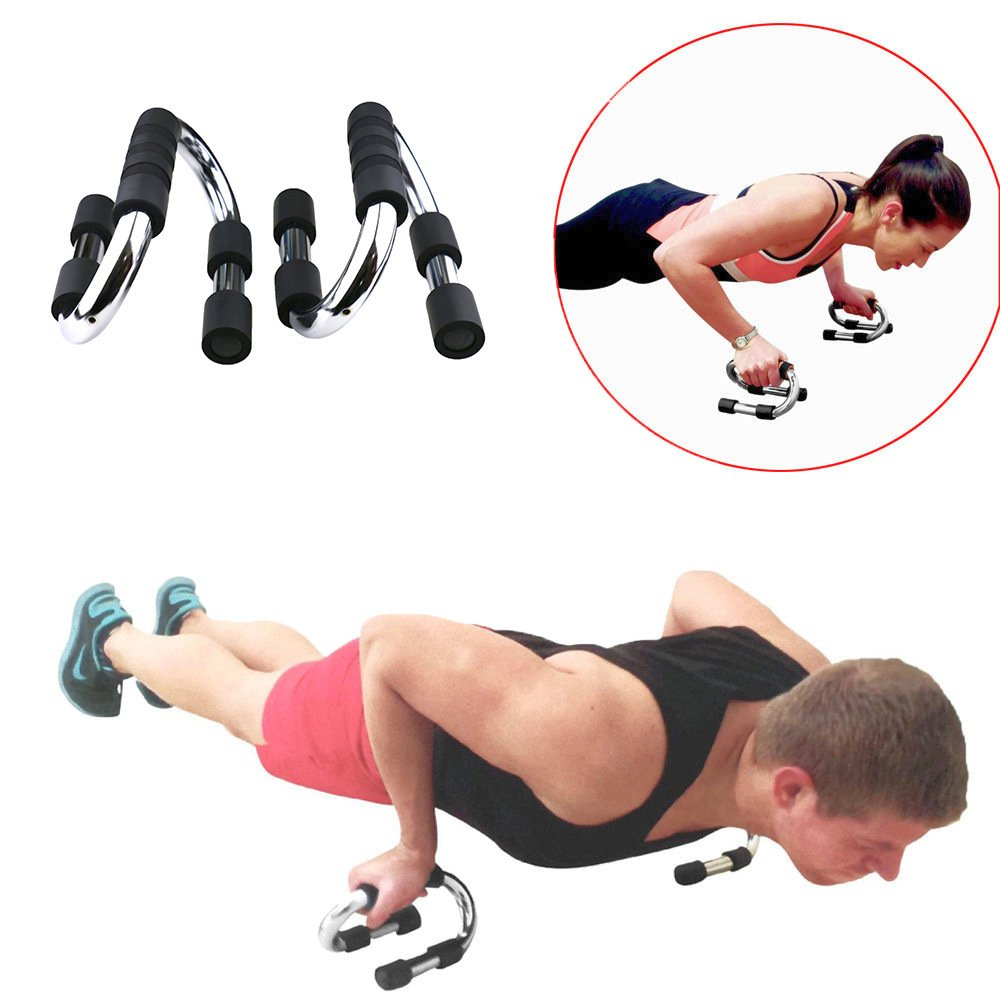 for Man Women Workout Gym Push Up Bars Pushup Handle Grips Stands Perfect Exercise Fitness Strength Training Equipment Portable Push