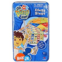 Go Diego Go Bingo Game Set - Nick Jr Diego Bingo Game