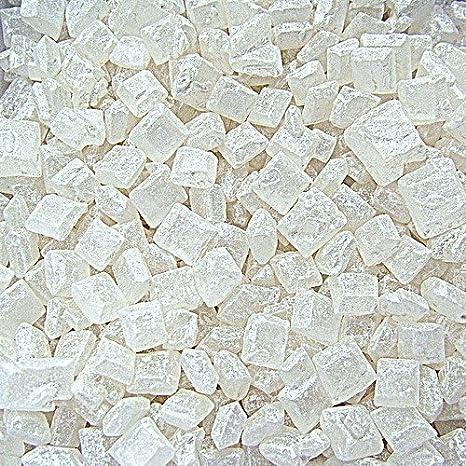 Natural Blanco tuercas leche de soja Gluten OMG libre Shimmer - azúcar Roc Bulk Pack.: Amazon.es: Hogar