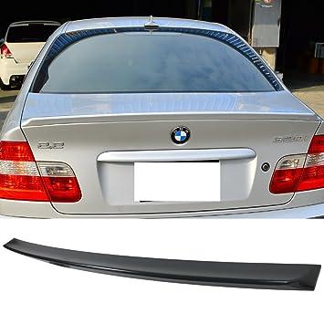 Para 1999 - 2005 BMW E46 4dr serie 3 AC estilo tronco Alerón Ala - ABS: Amazon.es: Coche y moto
