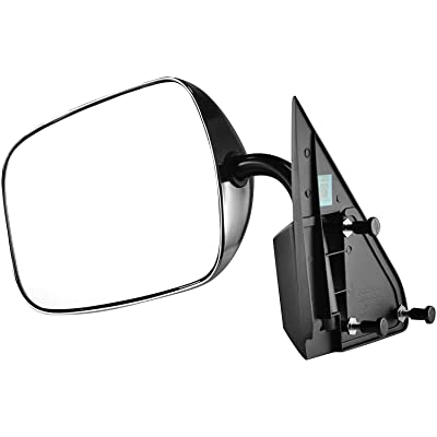 Driver Side Chrome Cover Side View Mirror for 88-00 C/K 1500 Chevy GMC Truck Suburban: Automotive