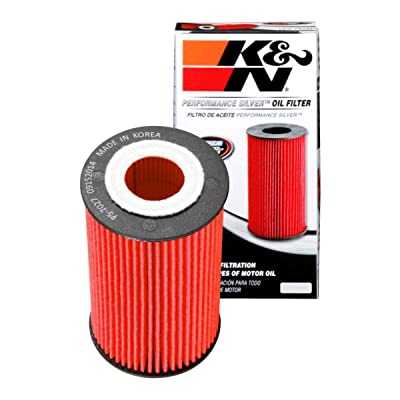 K&N Premium Oil Filter: Designed to Protect your Engine: Fits Select BUICK/CHEVROLET/GMC/SUZUKI Vehicle Models (See Product Description for Full List of Compatible Vehicles), PS-7027: Automotive [5Bkhe0111761]