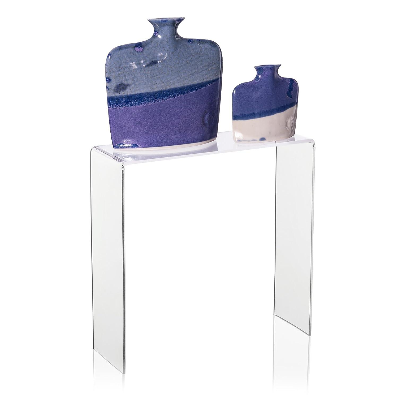 20/x 7/x 20/cm Espositore//vendita di display in vetro acrilico Ware Traeger come decorazione supporto//Schuh Display in plexiglas/® Originale