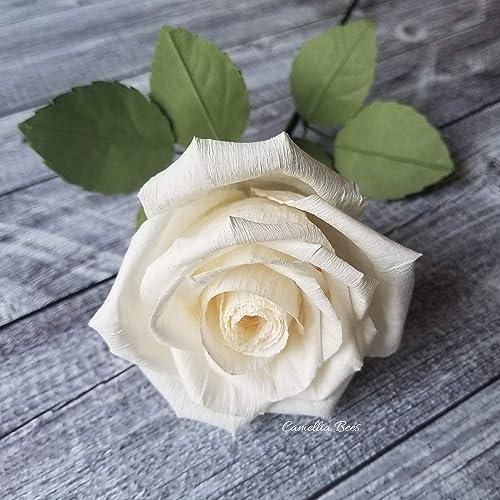 Amazon.com: Showa Grimm Rose Origami Paper 9 x 9 Inch 6 Design ... | 500x500