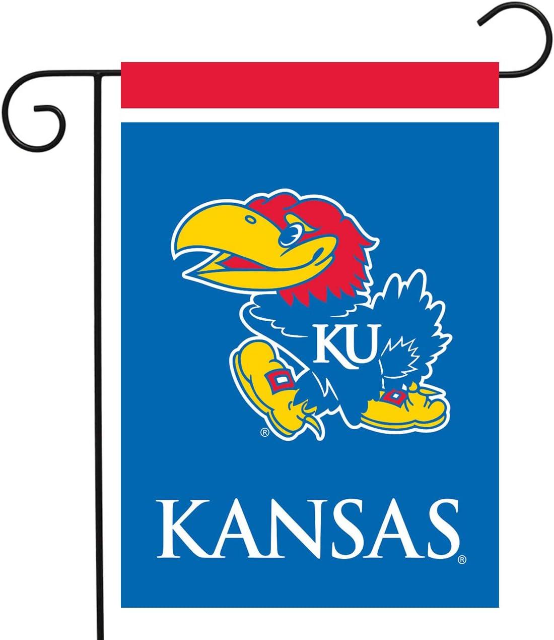 "Briarwood Lane Kansas Jayhawks Garden Flag NCAA Licensed 12.5"" x 18"""