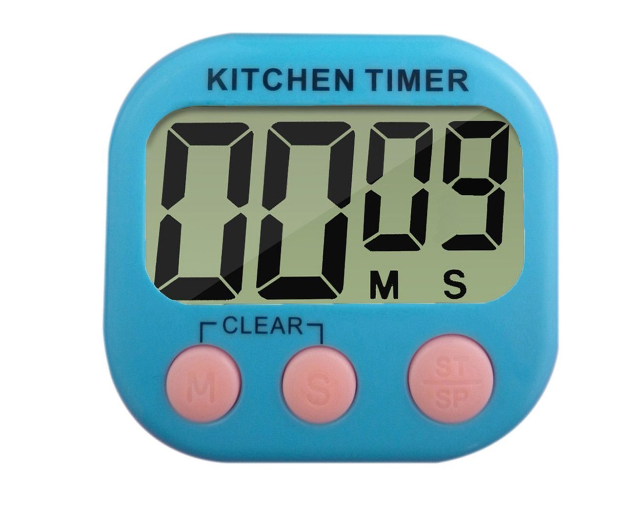 Amazon.com: Digital Kitchen Timer with Loud Sound Large LCD Display ...