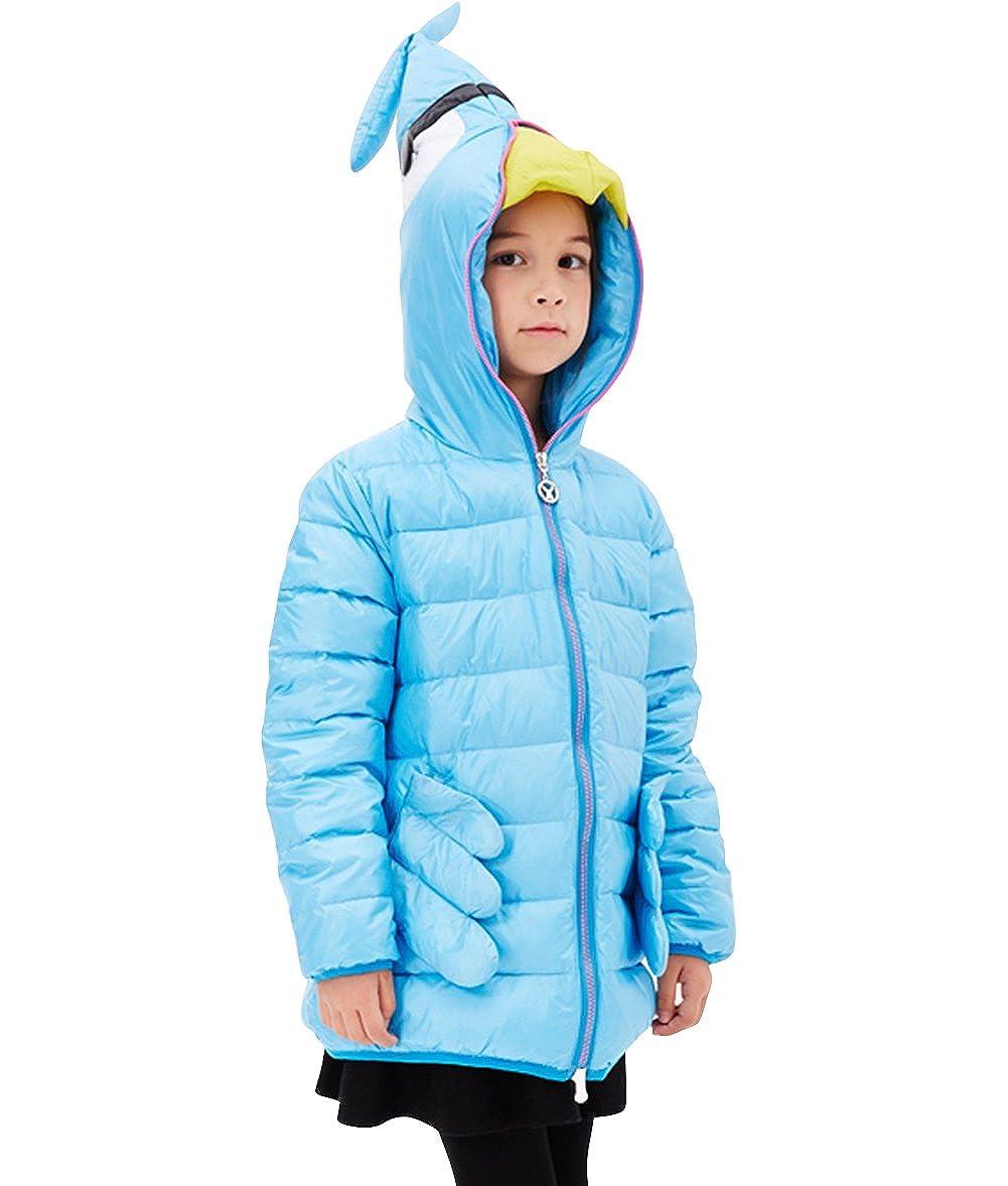 a56ac793b Amazon.com: Tortor 1Bacha Kid Girls' Shrimp Prawn Hooded Full Zip ...