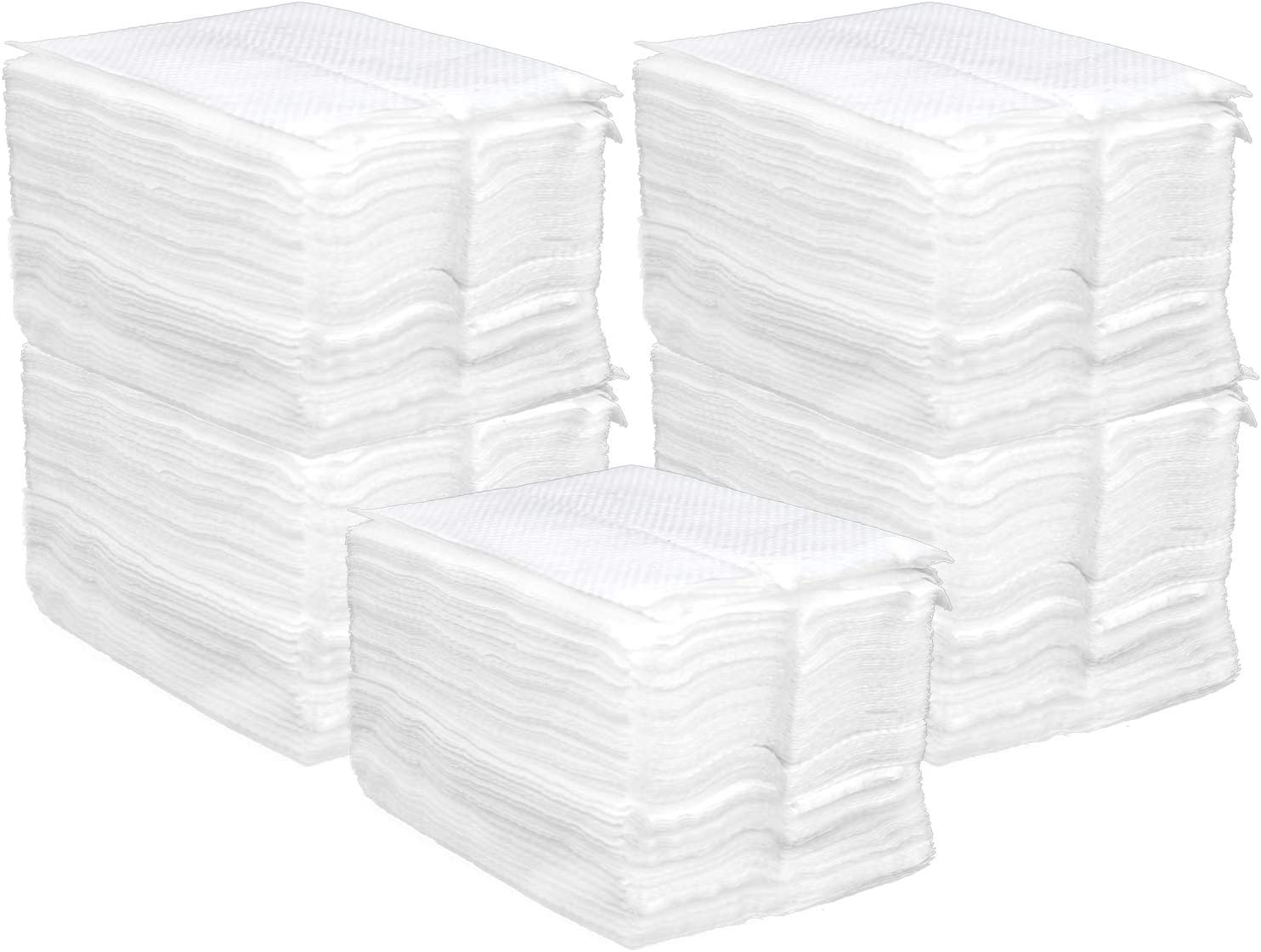com-four/® 500x Paper Napkins as a Refill Pack for Napkin dispensers 05 Pieces - Napkin Refill Pack