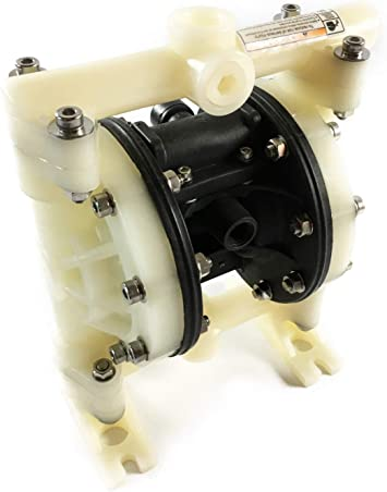 Double Diaphragm Air Pump PII.75 Chemical Industrial Polypropylene 3//4 NPT Inlet//Outlet Plating International
