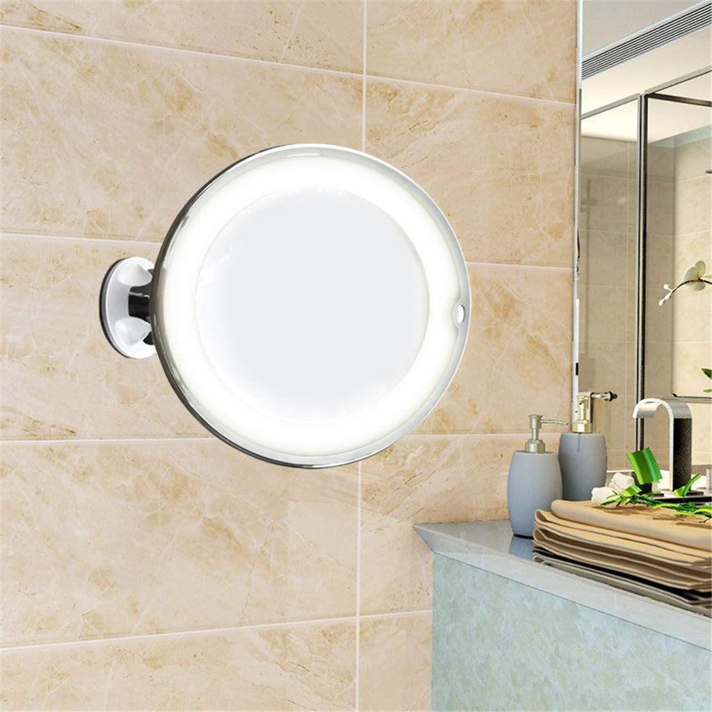ℬeauty Eve Flexible Mirror Lighted 10X Magnifying Makeup Mirror Power Locking Suction Cup by ℬeauty Eve (Image #6)