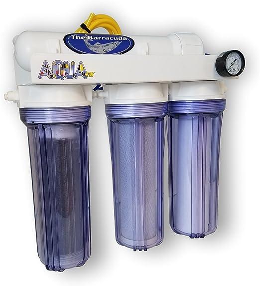 AquaFX 4 Stage Barracuda DI Reverse Osmosis System 200 GPD