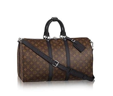 08ba30afcca8 Authentic Louis Vuitton Keepall 45 Bandoulière Handbag Article  M56711   Handbags  Amazon.com