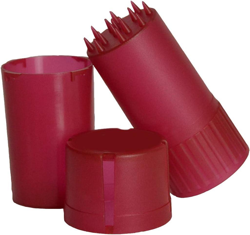 Carrisar Grinder de Plástico con Contenedor Almacenamiento, Trituradora Hierbas y Tabaco