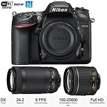 Amazon.com : Nikon D7200 DSLR Camera with 18-140mm VR + ...