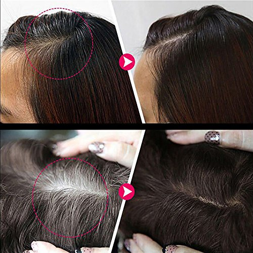 ❤️ Sunbona ❤️ Clearance Sale Hair Cream Hair Color Pen New Fast Temporary Hair Dye To Cover White (Black) by Sunbona Makeup Brush (Image #3)