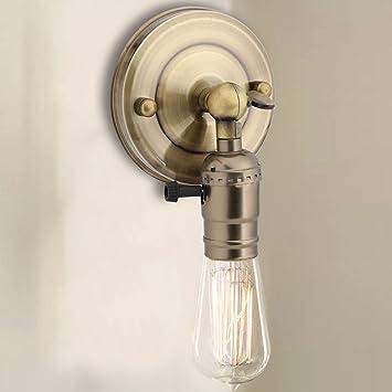E26e27 Prise Douille Dampoule Vintage De Lampe Applique Mural Avec