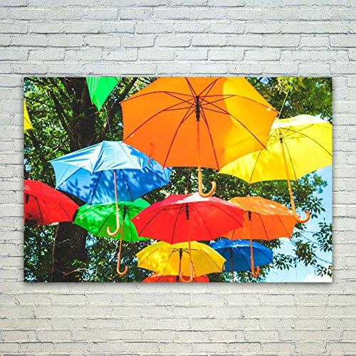 Westlake Art Poster Print Wall Art - Umbrella Yellow - Moder