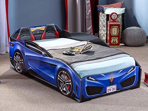 Cilek Spyder Race Car Toddler Bed Frame, Toddler, Pink 2