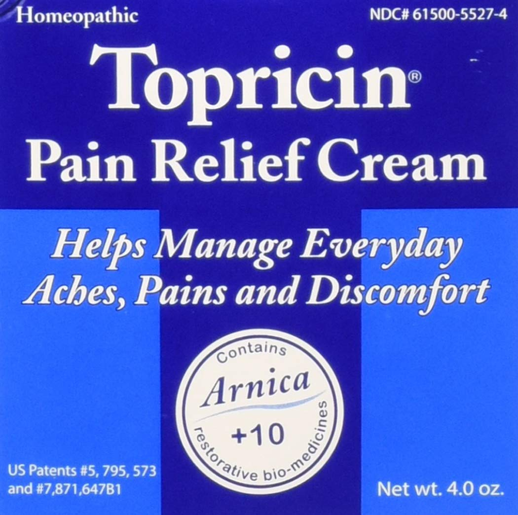 Topricin Pain Relief Cream 4 oz (Pack of 2) by Unknown