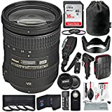 Photo : Nikon AF-S DX NIKKOR 18-200mm f/3.5-5.6G ED VR II Lens and Platinum Bundle w/Xpix Deluxe Cleaning Kit, Water Resistant SD Case, Camera Strap + 16GB + Much More