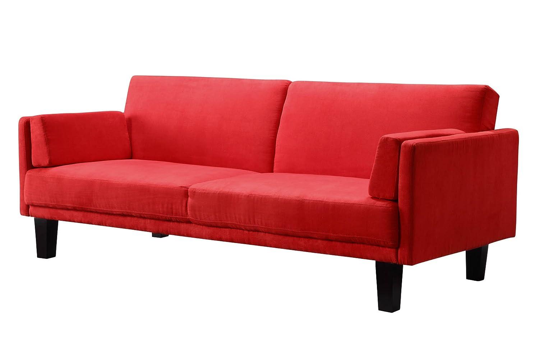 amazon    dhp metro futon  kitchen  u0026 dining  rh   amazon