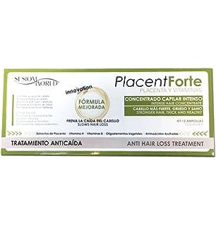 Ampollas Anticaída Placenta Biovit Caja 12 unidades.: Amazon ...